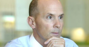 Equifax CEO Richard Smith prepares to face the music.